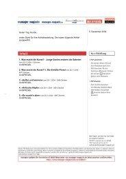 SPIEGEL Verlag, Digasnet/E-Paper - Blockfrei