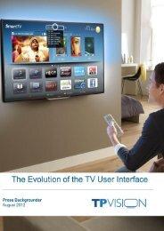 TV-User Interface - Philips