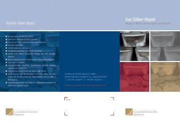 Flyer Silber-Depot - goldengates.de