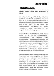 Download Presseinformation - Zeppelin Silos & Systems GmbH
