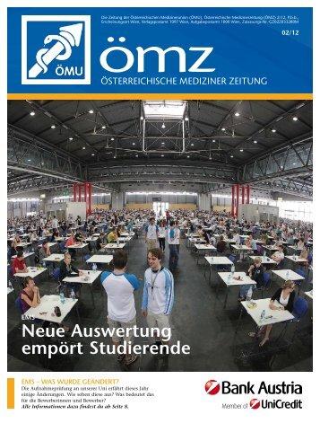Neue Auswertung empört Studierende - Österreichische ...