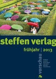 frühjahr | 2013 - Steffen Verlag