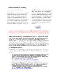 Zensur in den SAZ-News - Die Spieleautorenseite