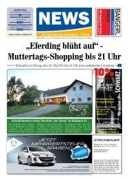 """""""Eferding blüht auf"""" - Muttertags-Shopping bis 21 Uhr - News-online.at"""