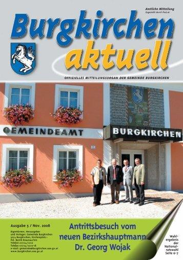 Ausgabe 5, November 2008 (0 bytes) - Burgkirchen