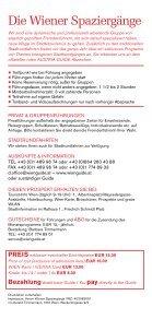 Wiener Spaziergänge Walks in Vienna - Seite 2