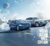 VOLVO-Ocean Race-Sondermodelle Broschüre 2012(PDF)