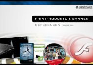 Printreferenzen ansehen - KONTRAST Medienproduktion