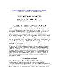Das Urantia Buch - Schrift 82 - Die Evolution der Ehe