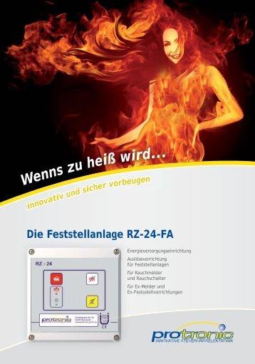 Die Feststellanlage RZ-24-FA - Feuerschutz TEC Stuttgart GmbH