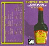 Programmheft 2003 - Bunter Hund