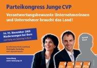 Parteikongress: Einladung - ju kreisverband waldshut - Junge Union ...