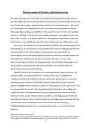 Musikgeragogik als Disziplin an Musikhochschulen - Hochschule für ...