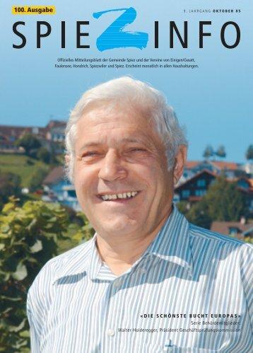 100. Ausgabe - Verein Bucht Spiez