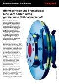Visuelle und messtechnische Prüfungen von Bremsscheiben und ... - Seite 2