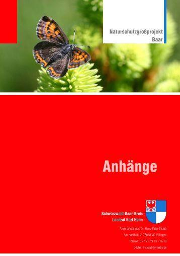 Anhänge - Landratsamt Schwarzwald-Baar-Kreis