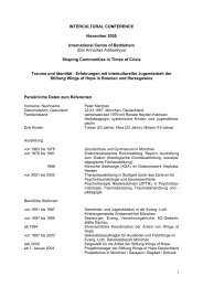 Referat in Deutsch - Stiftung Wings of Hope