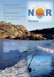 Katalog 2010 - Urlaub in Norwegen