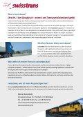 Verzeichnis der Schweizer Transport- und ... - swisstrans.info - Seite 2