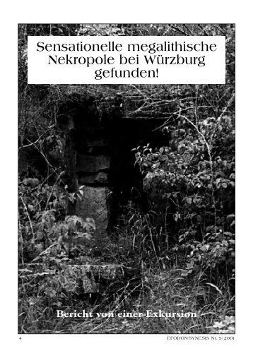 Sensationelle megalithische Nekropole bei ... - Gernot L. Geise