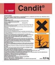 Candit® - BASF A/S