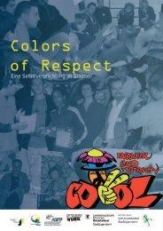 PDF, ca. 3,4 MB - Colors of Respect