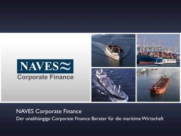 NAVES Corporate Finance positioniert sich im Zentrum der ...