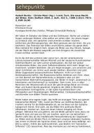 Hubert Burda / Christa Maar (Hg.): Iconic Turn. Die ... - Sehepunkte