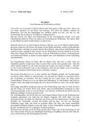 Vom Erkennen der Wirklichkeit im Relief - Hansjörg Wagner