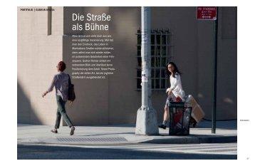 Die Straße als Bühne - Gudrun Kemsa