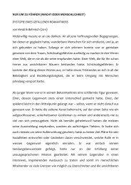NUR UM ZU FÜHREN (MACHT ODER ... - Hendrik Behnisch