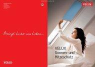 VELUX Sonnenschutz 2013 bei TKM Klaus Madzar - TKM Fenster