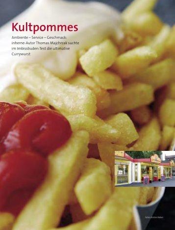 Magazinartikel Pommestest - Thomas Majchrzak