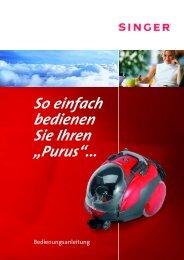 Anleitungsbuch PURUS 1-27