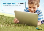 Apps, Apps, Apps ... so what? - Prinovis