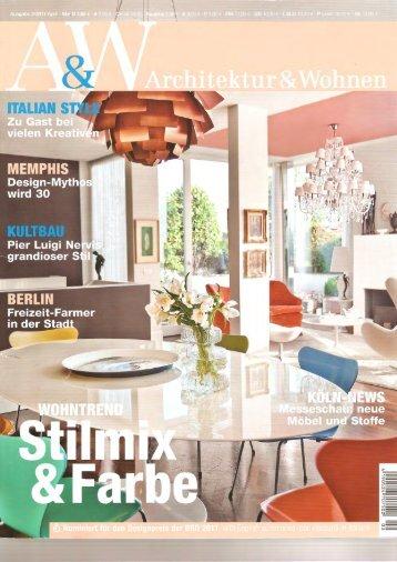 Architektur U0026 Wohnen 2, 2011, S.118   Kt.COLOR