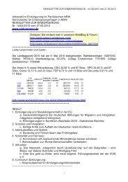 NEWSLETTER ZUR EINBÜRGERUNG Nr. 14/04/2010 vom 27.05 ...