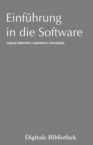 Einführung in die Software