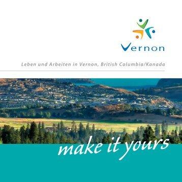Leben und Arbeiten in Vernon, British Columbia/Kanada