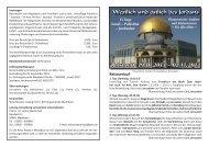 Westlich und östlich des Jordans Reisezeit: 19.10.2013 – 02.11.2013