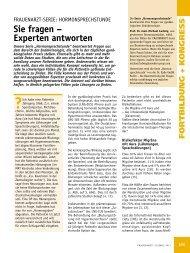 Sie fragen – Experten antworten - Prof-ahrendt-frauenarzt.de