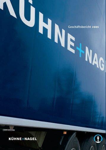 Geschäftsbericht 2005 - Kuehne + Nagel