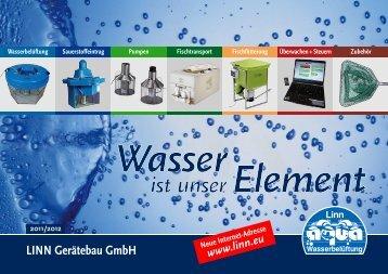 Katalog LINN Gerätebau GmbH 2011-2012 - Rund um Fisch