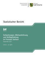 Schlachtungen, Milchanlieferung und Geflügelhaltung - Statistik ...