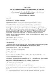 GR-Sitzungsprotokoll 2005-11-17 - .PDF - Steyr
