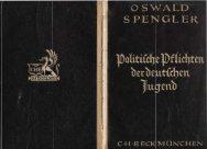 Politische Pflichten der deutschen Jugend - The new Sturmer