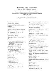 Personenregister - bei der Hugo von Hofmannsthal-Gesellschaft