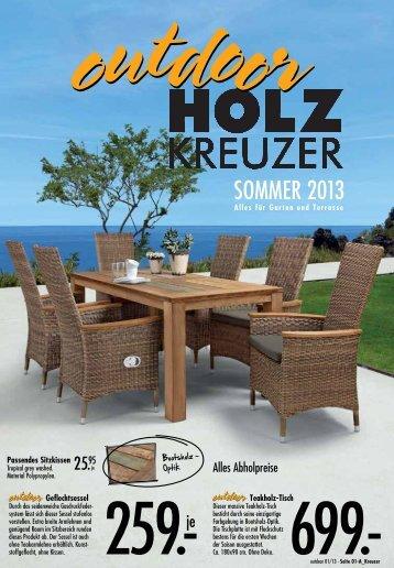 SOMMER 2013 - Holz Kreuzer