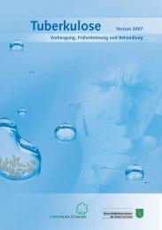 Tuberkulose-Broschüre - Lungenliga