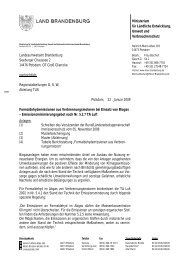 Erlass Formaldehydemissionen aus Verbrennungsmotoren ... - MUGV